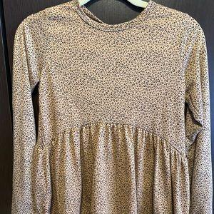 💚3/$10: NWOT Gaze- Cheetah Print Blouse, SIZE: XS